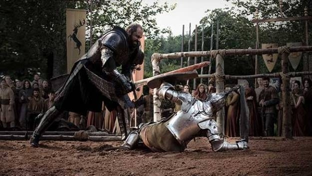 Knights were assholes...