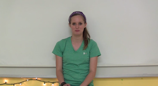 This student talked about the double standard between male and female students.