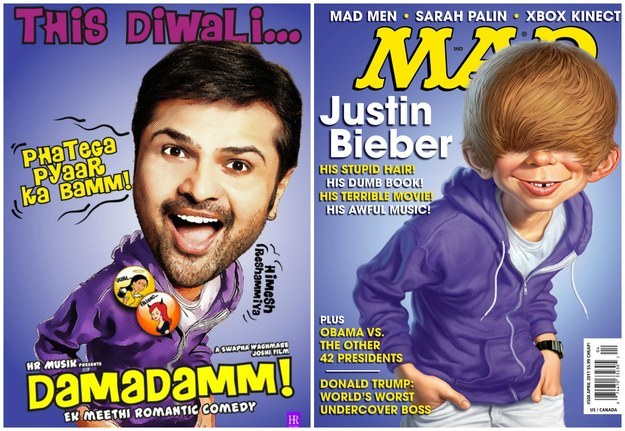 No copying magazine covers.