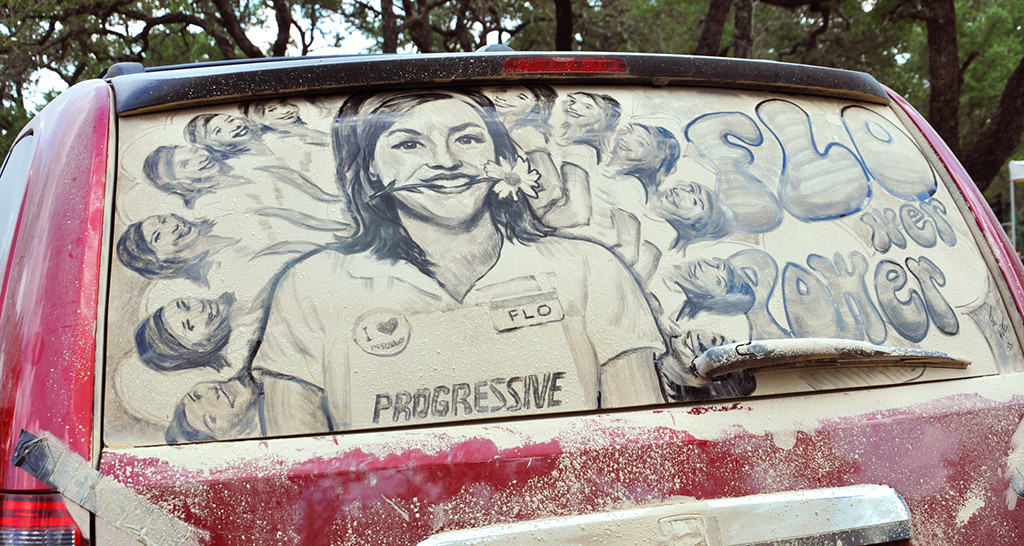 遠看這就是台髒車子,近看就變成了大師級的藝術傑作!