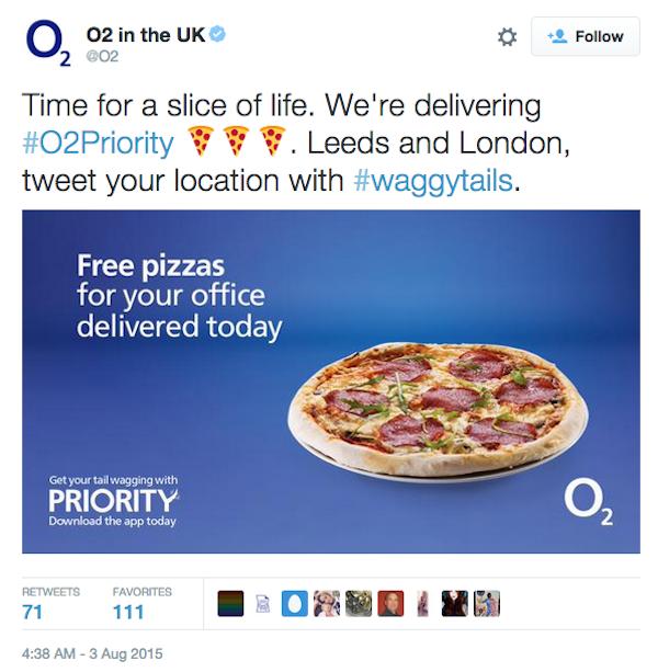 這個男生使用詭計居然讓電信公司供應他一整年的免費比薩!