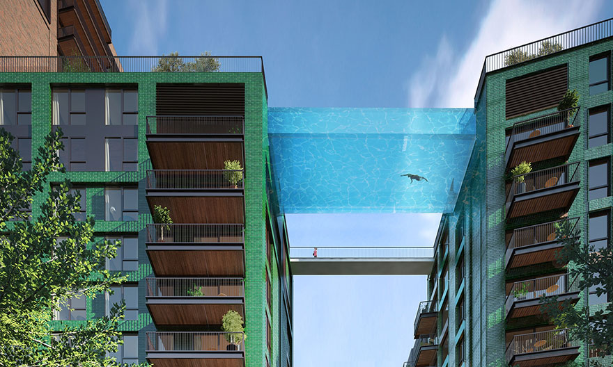 毫無疑問,你絕對找不到比這個還要恐怖的游泳池...