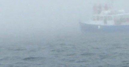 在影片0:08時,這群人搭船目擊了就算下輩子都還會記得的超爆炸壯觀畫面!