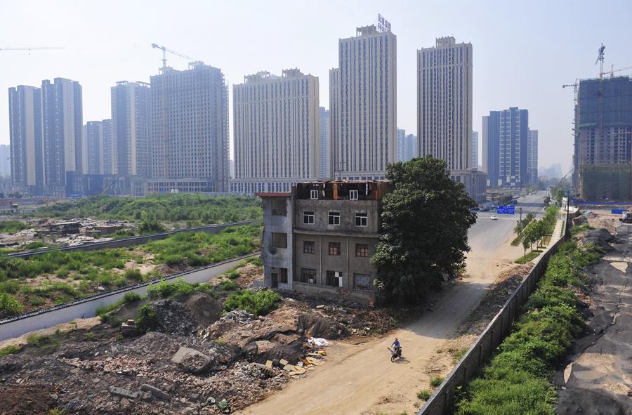 13棟中國「最牛」的釘子戶,誓死捍衛家園的結果就會變成這樣...