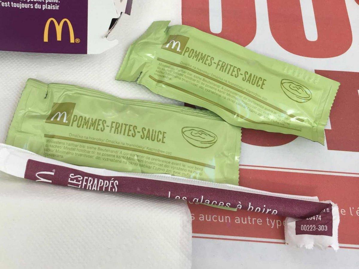 看完法國的麥當勞,走進一般的麥當勞就覺得胃口瞬間大減啊!