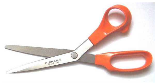 Ever stab at the air with a pair of scissors? Well, in Egypt they believe you are cutting spirits present in the air.