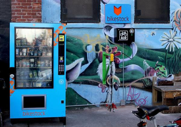 Bike parts, NYC