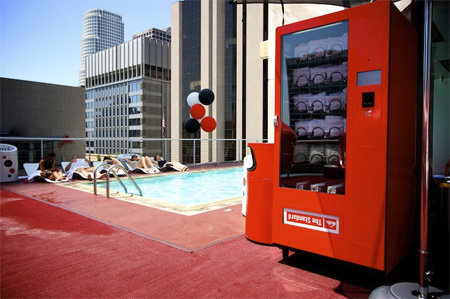 Boardshorts Vending Machine