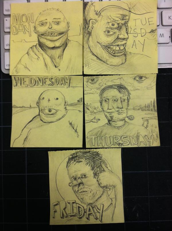 31個因為上課太無聊而不小心畫出傑作的學生。