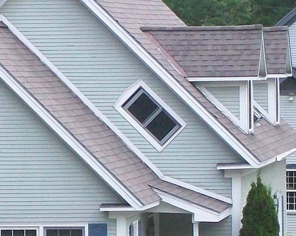 In Vermont most windows are built on an angle so that witches won't fly though them.   I suppose they could still use the front door though.  Via EMGN