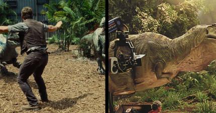 在你看到他們是怎麼拍出侏羅紀世界裡的迅猛龍後,你下次就會笑到無法看完了!