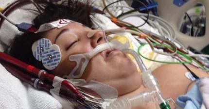 這個剛出生小寶寶的哭聲居然拯救了媽媽的性命!