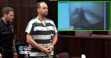 美國獄警不小心將「殺人犯」和「污點證人」關在同間牢房,監視器的畫面真的太激烈了...