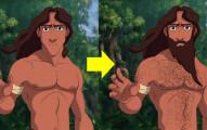 8位迪士尼王子「如果變成合理現實身材」的話,你還會這麼愛他們嗎?
