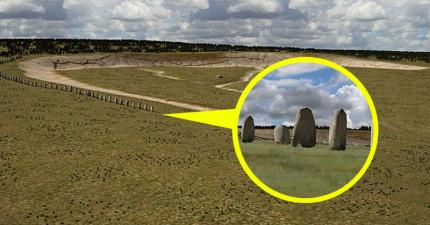 「英國第二組巨石陣」4500年後終於被發現了!它的規模直接樂勝英國古蹟「巨石陣」!