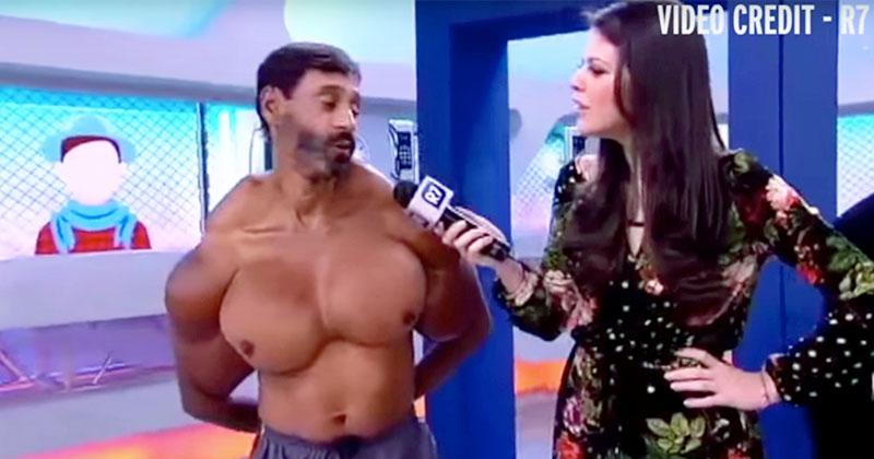 這名超壯葡萄牙男子成功地把人類身體逼到可怕極限了...