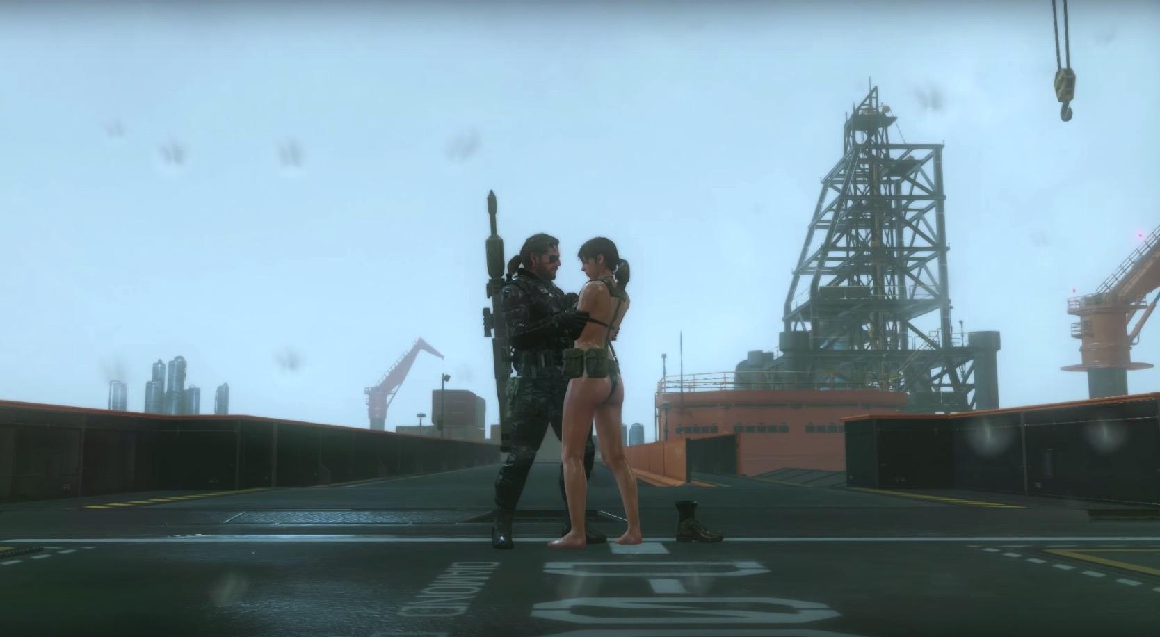 熱門遊戲《潛龍諜影5》的「胸部物理系統」真的太瘋狂了,在2分01秒的那一幕我真的無法接受...