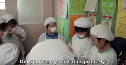 日本小學生在中午吃飯時間所做的事情,可能就是讓世界變得更好的重要關鍵!