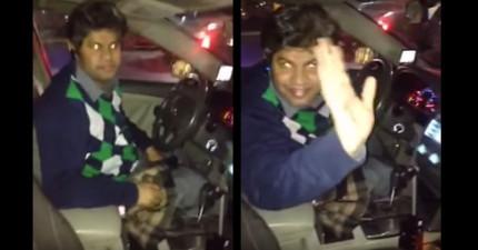 她本來只想拍下朋友喝醉的糗樣,卻意外錄到了計程車司機最可惡的犯罪事實!