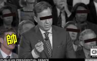 這個神祕觀眾用一對超殺眼神直接「把全美國公民帥到再也不想專心看電視辯論」!