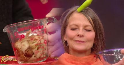 在專家把馬鈴薯皮滾過的水沾到銀白頭髮上,我馬上衝去告訴所有親朋好友!