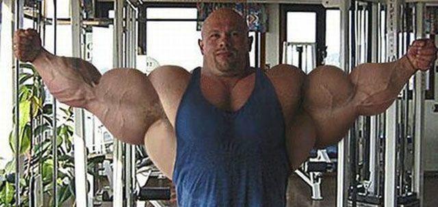 25個會讓你大喊「求求你別再練了」的走火入魔瘋狂肌肉男!