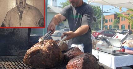 當時很多人在這個漢堡攤吃飯,都不知道他們原來在吃人肉。