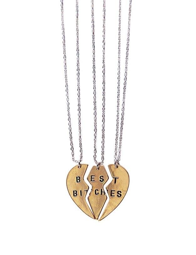 Best Bitches Necklaces