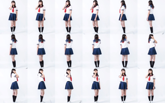 日本漫畫網站推出這組「真人姿勢設定集」,讓所有人都能成為專業漫畫家了!