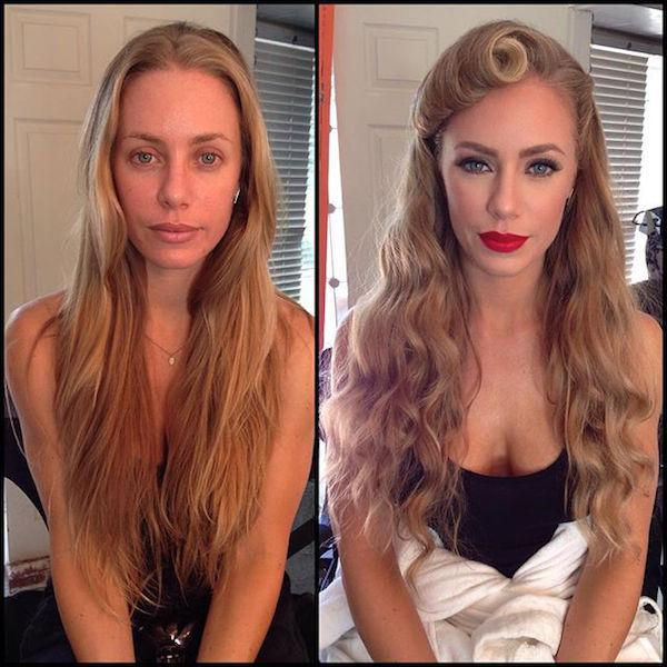 model playboy without makeup 27 Playboy models, adult stars and actresses get the magic touch (48 Photos)
