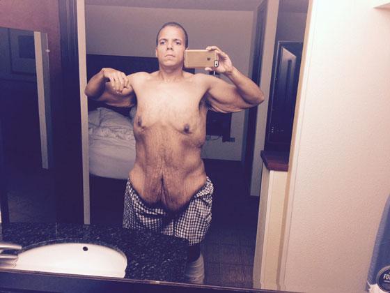 317公斤胖男上網亂酸健美員,原本以為會被嗆爆「他們幫他瘦掉半個自己」!