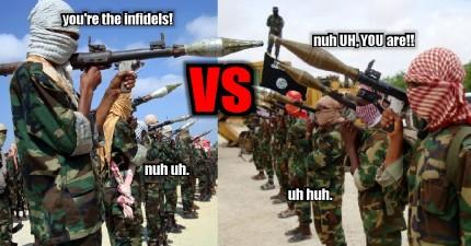 伊斯蘭蓋達組織向另一恐怖組織ISIS透過影片全面宣戰啦!