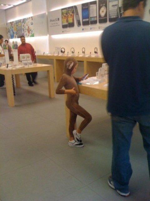 26個「要請警察應該開始駐守蘋果專賣店」的超荒謬畫面。