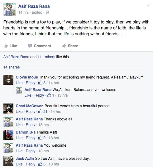 這個男子公開在臉書上跟好兄弟「分手」,上面寫的短文已經讓全球網友都笑瘋了!