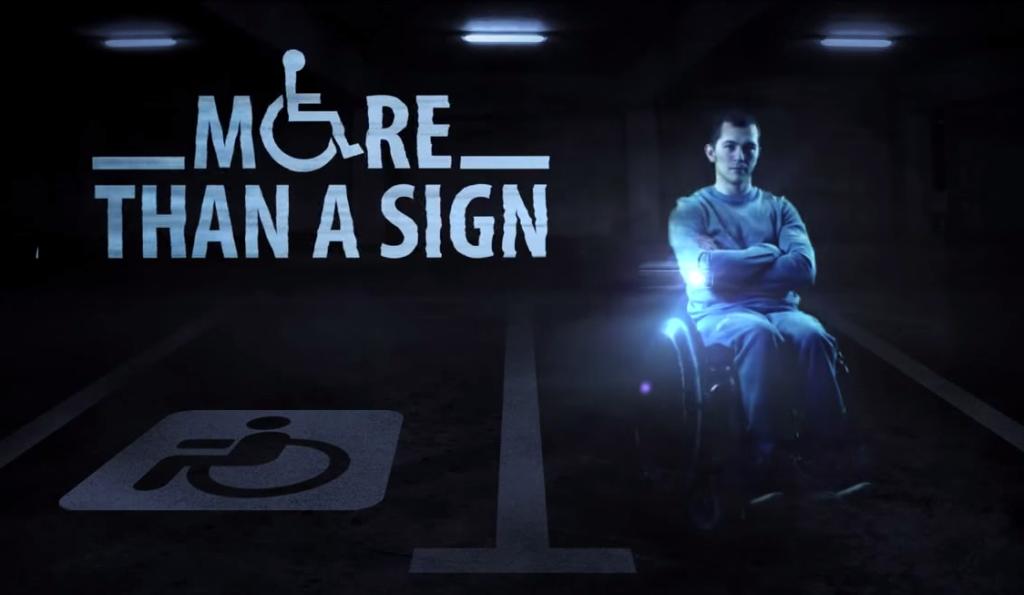 在這間百貨公司的停車場裡,如果有人想要霸佔身障專用車位的話,一個鬼魂就會出現!