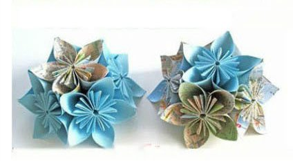 我不太會摺紙,但只花了3分鐘就輕鬆學會如何折出「高手專業等級」的超美紙花!
