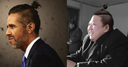 如果這些「各國元首」都把頭髮綁成包子頭,我想世界應該歡樂到很難會有戰爭了。(普丁超帥)