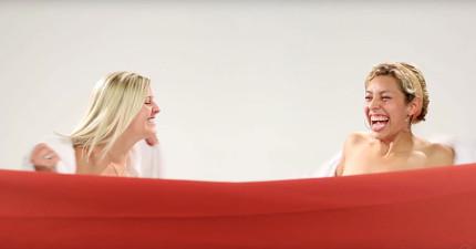 這3對感情很要好的好姐妹決定「對彼此全裸相見」,她們對對方身材的評論真的太爆炸了!