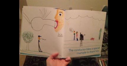 25張震撼兒童畫作「讓你發現到人性本不純潔」!