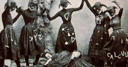 13張老照片狠狠證明「這個世界上真的有女巫存在」!