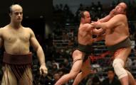 這位白人相撲力士雖然只有98公斤,但他在比賽時的「致命逆轉勝絕技」會讓你看得很佩服!