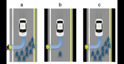 以後的自動駕駛車有天可能會選擇把你給殺死,而且最可怕的是:你會很同意它的決定!