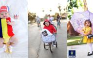 這個小女孩才3歲,但她從一出生超強的萬聖節百變裝扮已經讓全世界都稱她為「萬聖節裝扮之后」!