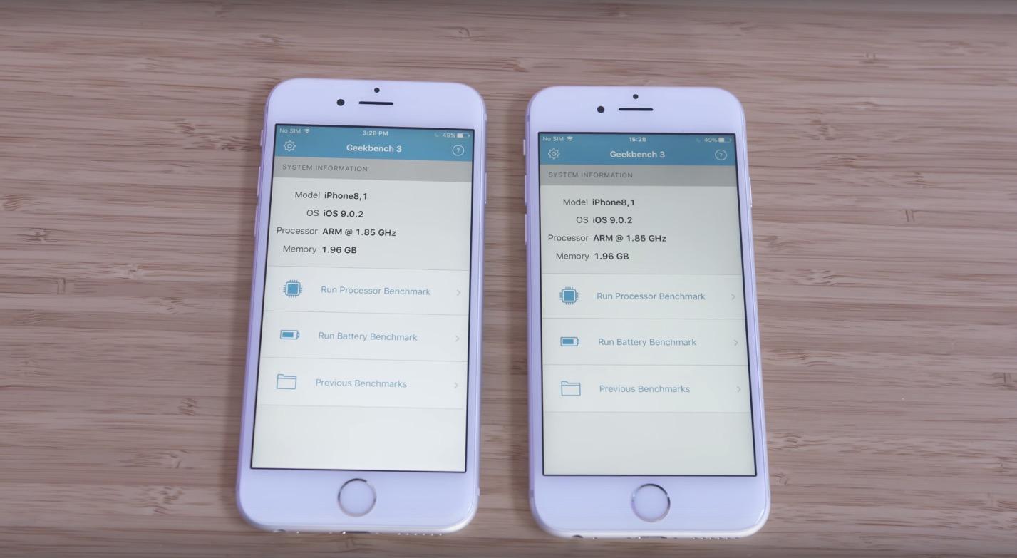 iPhone 6s的處理晶片有「三星製」和「台積電製」兩種,然而實測的差異結果已經造成龐大的退貨潮了!