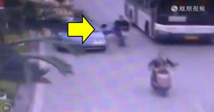 這就是為什麼大家在「把車門推開之前」都應該再觀察3秒鐘的原因。
