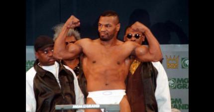 世界重量級拳王麥克·泰森的驚人風流史會讓你看完都為他的命根子感到疼啊!