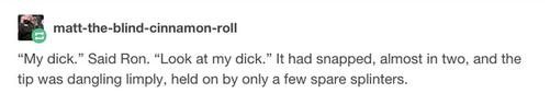 當你將《哈利波特》台詞中的「『魔杖』惡搞改成『GG』」後,你才會發現原來這一直以來都是一個色色的故事...