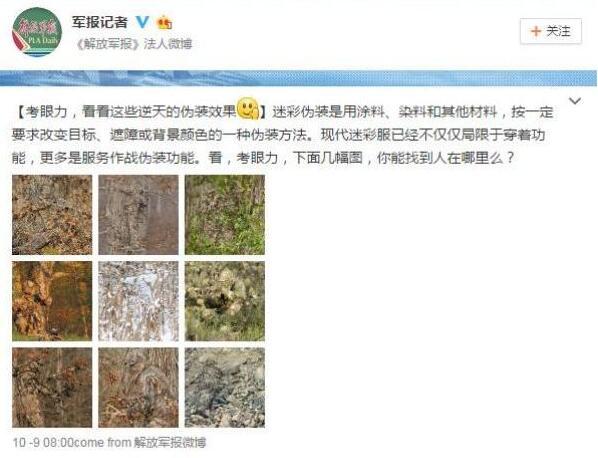 中國《解放軍報》釋出了這些「超猛狙擊手完美偽裝」的精彩照片,但真相曝光後已經被網友罵翻了!
