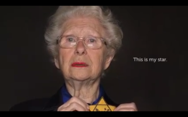 She is a French writer and poet. She is Jewish. She is also a Holocaust survivor.