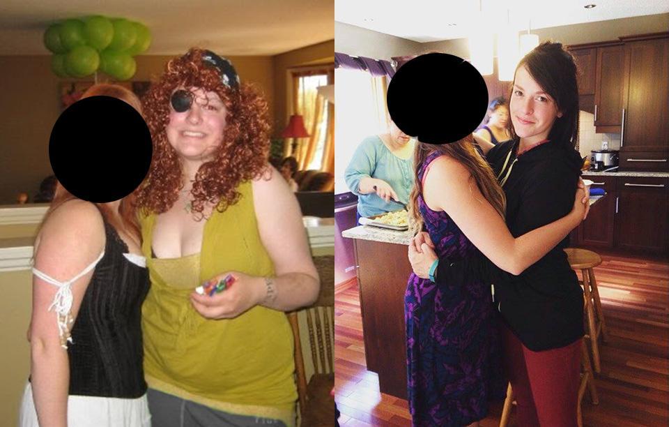 18張落差最大的瘦身前後對比圖,會給你前所未有的減重希望決心!